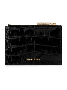 Whistles Shiny Croc Coin Purse