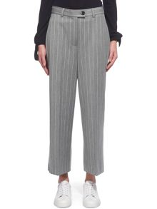 Whistles Stripe Cropped Trouser