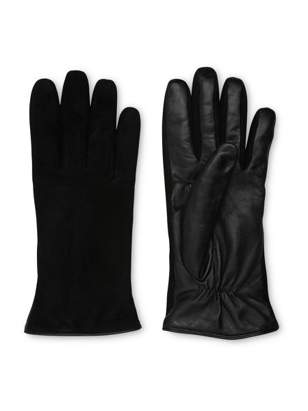 Whistles Suede Front Leather Glove