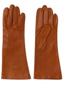 Whistles Longline Leather Glove
