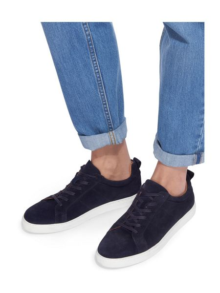 Whistles Koki Modern Lace Up Trainer