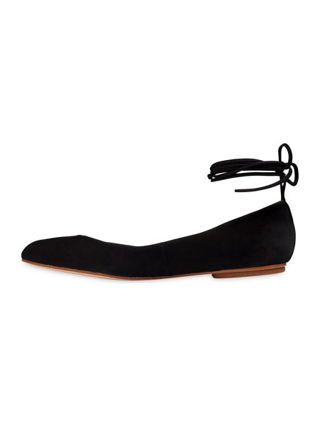 Whistles Brook Ankle Tie Ballerina