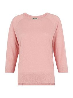 Alice Linen 3/4 Sleeve T-shirt