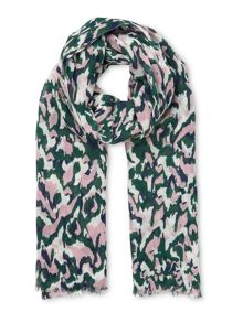 Whistles Marble Print Scarf