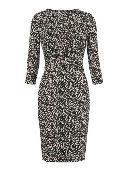 Whistles Ferrie Twist Front Dress