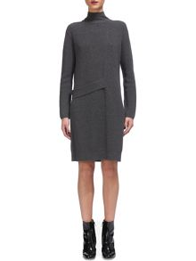 Whistles Side Tab Sweater Dress