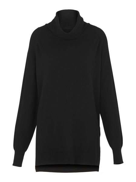 Whistles Cashmere Cowl Neck Knit