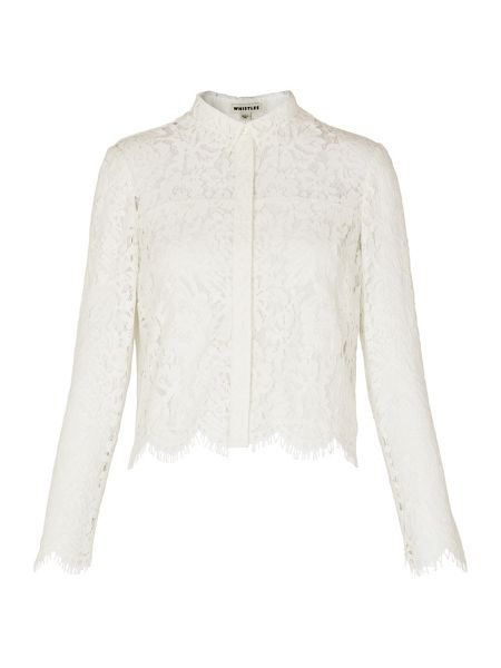 Whistles Chay Lace Blouse