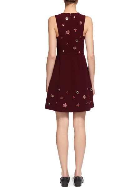 Whistles Willow Embellished Dress