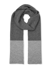 Whistles Rib Two Tone Scarf