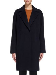 Whistles Dara Drawn Cocoon Coat
