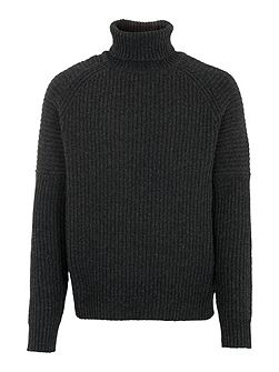 Chunky Funnel Neck Sweater