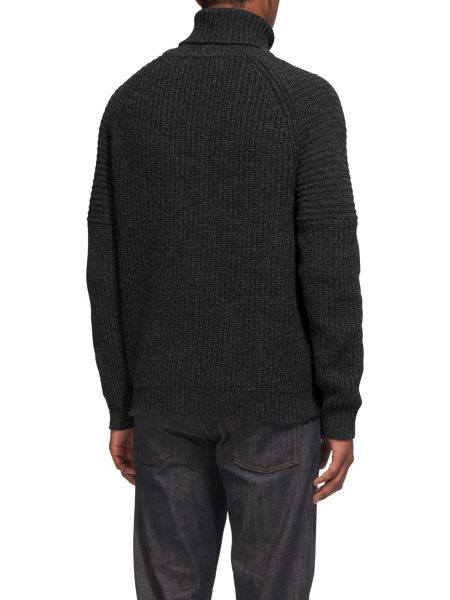 Whistles Chunky Funnel Neck Sweater