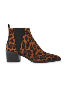 Whistles Belmont Leopard Chelsea Boot