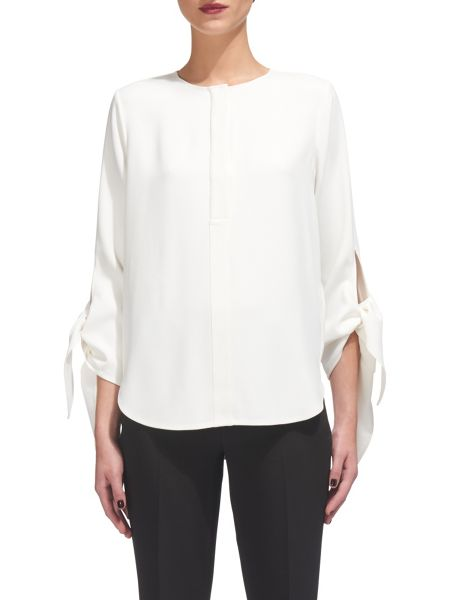 Whistles Jerry Tie Cuff Top