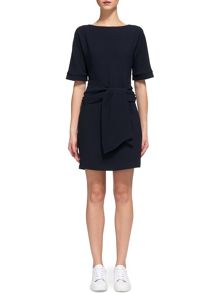 Whistles Cecil Tie Front Dress