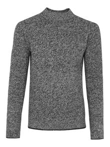 Whistles Tipped Melange Sweater