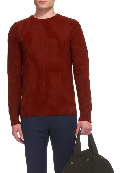 Whistles Ribbed Wool Sweater