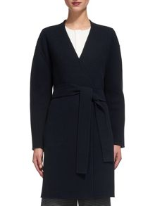 Whistles Nicks Wool Wrap Coat