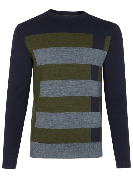 Whistles Geometric Patterned Sweater