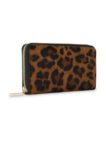 Whistles Leopard Large Wallet