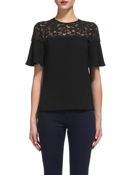 Whistles Lou Lou Lace Top
