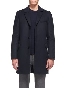 Whistles Classic Melton Overcoat