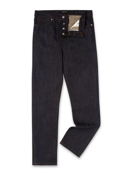 Whistles Raw Selvedge Slim-Fit Jeans