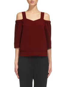Whistles Anais Off Shoulder Top