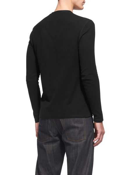 Whistles Waffle Textured Henley
