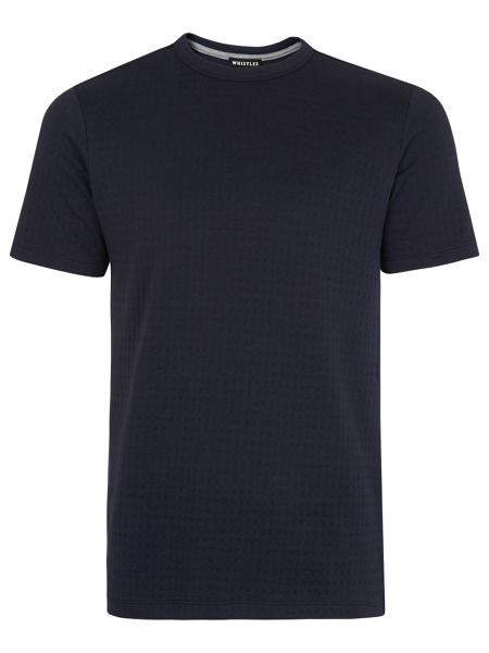 Whistles Waffle Textured T-Shirt
