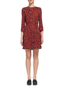 Whistles Anjelica Cherry Print Dress