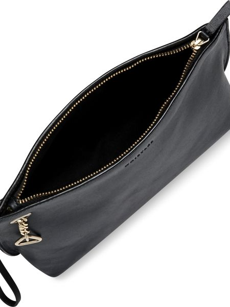 Whistles Triangle Charm Wristlet Clutch