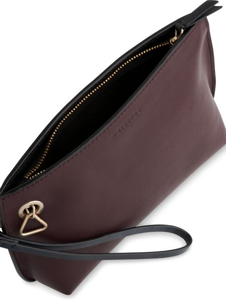 Whistles Triangle Charm Wristlet Pouch