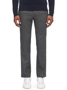 Whistles Slim-Fit Flannel Trousers