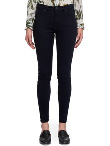 Whistles Blue Black Skinny Jean