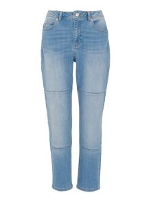 Whistles Light Panelled Boyfriend Jean