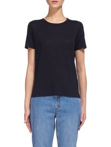 Whistles Classic Linen T-shirt