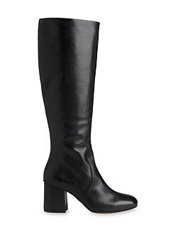 Clarion Knee High Leather Boot