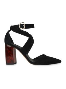 Whistles Taylor Cross Front Marble Heel