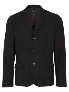 Whistles Deconstructed Checked Blazer