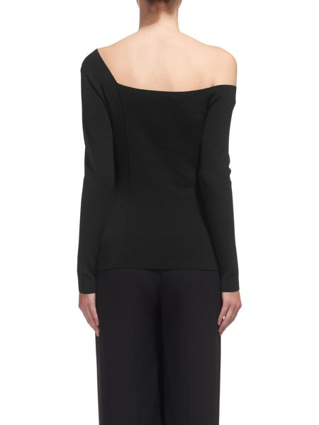 Whistles Asymmetric One Shoulder Top