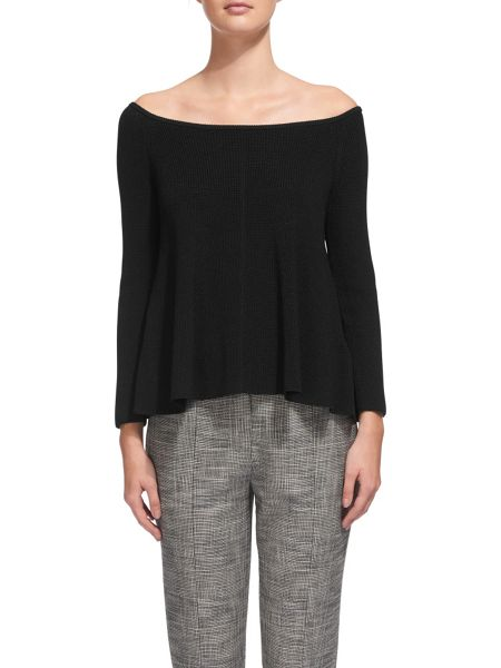 Whistles Bardot Fit and Flare Sweater