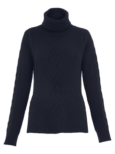 Whistles Bo Cable Trapeze Knit