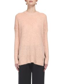 Whistles Mohair Split Side Sweater