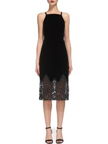 Whistles Dakota Velvet Dress
