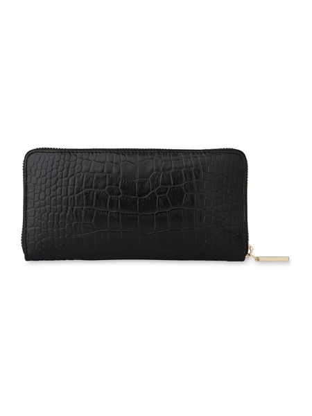 Whistles Shiny Croc Large Wallet