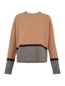 Whistles Boiled Wool Sweatshirt