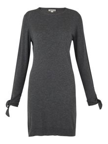 Whistles Annie Sparkle Tie Cuff Dress