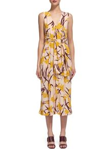 Whistles Amelia Lilly Print Jumpsuit